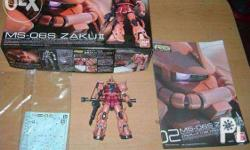 Built Real Grade Char's Zaku Complete with box and