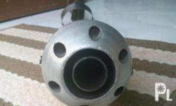 stainless pipe swak sa wave 100, with silencer.