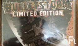 Brand new Bulletstorm Limited Edition for PS3 The game