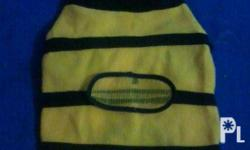 Bumblebee Dog/Cat Jacket For Sale Size Large Length :
