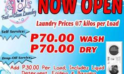 Looking for Fast, Clean Laundry in Butuan? FAST 'N