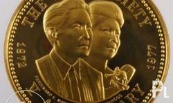 We transact Gold Commemorative Coins, Philippine gold