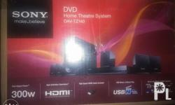 BNEW Sony Home Theater system(dav-tz140) HDMI ready 5.1