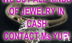 WEBUYANY KIND OFJEWELRYIN COLD CASH!!!!! GOLD DIAMOND