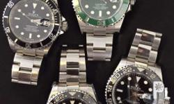 We are Jewelry & watch specialists buying high-end