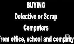 Buying Scrap PC or PC parts