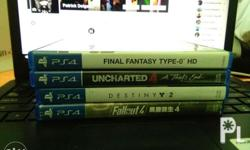 Final Fantasy Type-0 HD: 800 Fallout 4: 800 Uncharted