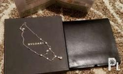 Bvlgari necklace with Akoya pearl ( Japanese pearl )
