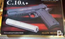 C10 Full Metal Alloy Pellet gun Pistol type BB Bullets