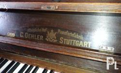 C.Oehler Stuttgart piano great playing condition