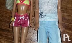 Cali. Barbie and ken 600 only for 2 dolls + shipping