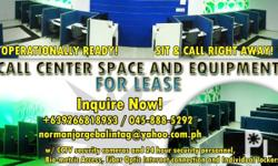 CALL CENTER SPACE AND EQUIPMENT FOR LEASE CALL CENTER