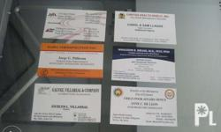 We print Digital Calling Card for High Quality and Best