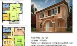 House and Lot for sale located at Camella Cerritos