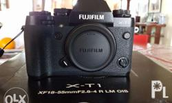 FUJI XT-1 slightly used but looks like brand new