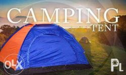 4-6 Person Camping Tent (600 each) *Summer PROMO 650