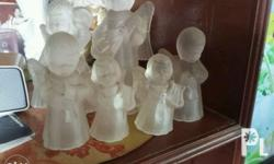 lovely glass angels to fix your candles.. txt or chat
