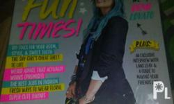 Demi Lovato on Cover April 2015 All good as new