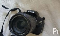 Selling Cannon EOS 600D Camera! -Unit is in very good