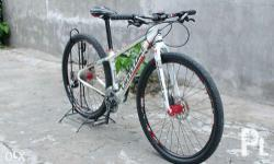 Frame - Cannondale Trail 6 (small) Fork - Mosso M5