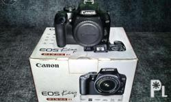 Canon 1000D / Kiss F / Rebel XS complete with box and