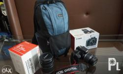 Canon EOS 1000D DSLR Camera with EF-S 18-55mm IS lens