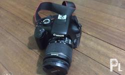 Canon 1100D With 8 gb memory card Charger Battery