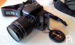 Canon 550D Dslr Camera Specifications: 18-55mm 1080p