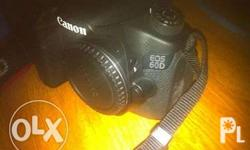 canon 60d body with box and accesories pa po 8k +