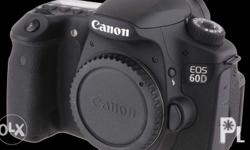 Canon 60D Body comes with the ff: Orig battery Orig