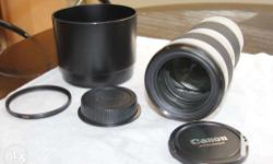 Selling my canon 70-200mm f4 L non IS lens in very good