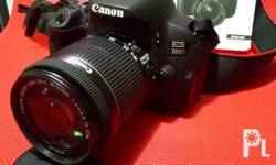 For Sale: Canon EOS 700D 18MP with HD Video PHP17,500