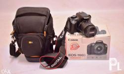 Canon EOS 1100 DLSR Camera Kit Slightly used, 2 Year