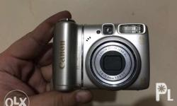 Not working!!! Canon powershot a580 Selling it for