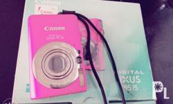 For sale or swap canon digital camera model ixus 95is