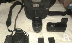 Canon 1200d Camera box Canon Lens EFS 18-55mm IS