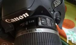 Canon eos 60d Canon zoom lens ef-s 18-55mm With sigma