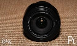 Canon EFS 18-135mm IS f3.5-5.6 lens. No scratches or