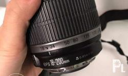 original Canon EFS 18-200mm zoom lens for sale. Pm me