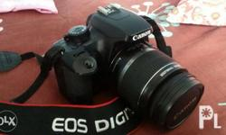 Selling my canon dslr model eos 1000d for Php 10,000.00