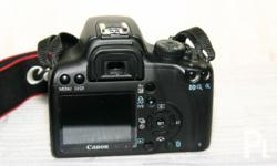 Unit: Canon EOS 1000D DSLR Camera with EF 18-55mm Kit