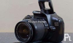 For sale pre-loved Canon EOS 1100D With 18-55mm Canon