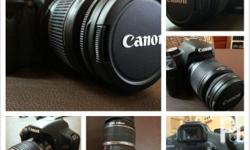 Selling Price: Php 22,500 Complete set of Canon 500D