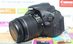 Selling Canon eos 600d dslr camera Php 16,500***fixed