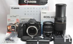 Canon EOS 60D has arrived ~ Standard lens: EF-S 18-55mm
