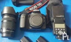 Im selling me preloved Canon EOS 70D EFS18-135 for