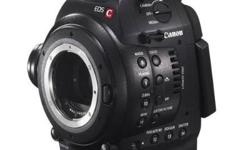 The EOS C100 has the advanced 16:9 Super 35mm Canon