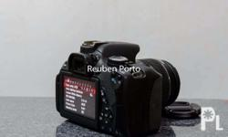 Canon EOS DSLR 650D touch screen ready to use