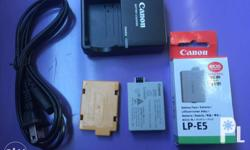 We sell Brandnew Camera Battery and Charger. we do meet
