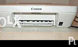 canon color printer 3 in one one month used price